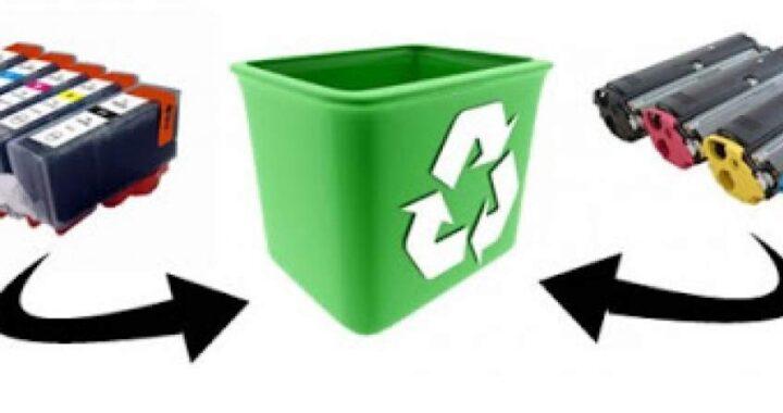 ¿Dónde reciclar los cartuchos de tinta?