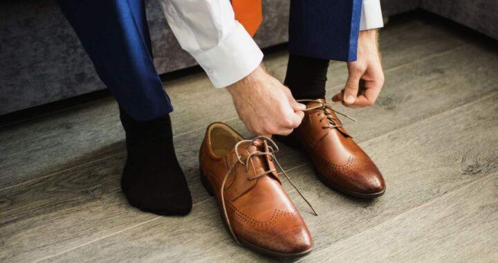 Los Zapatos hombre de piel de Ortiz & Reed