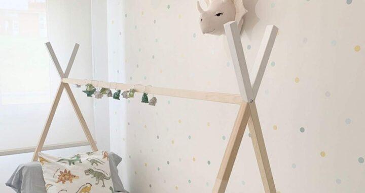 Vinilos pared infantiles de Nicolasito