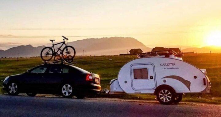 La mini caravana Caretta: La única caravana que se puede utilizar durante todo el año gracias a su aislamiento