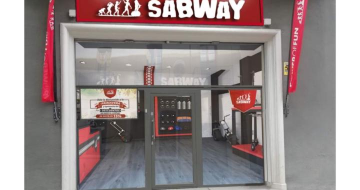 SABWAY: Abrir tienda propia con taller de patinetes eléctricos