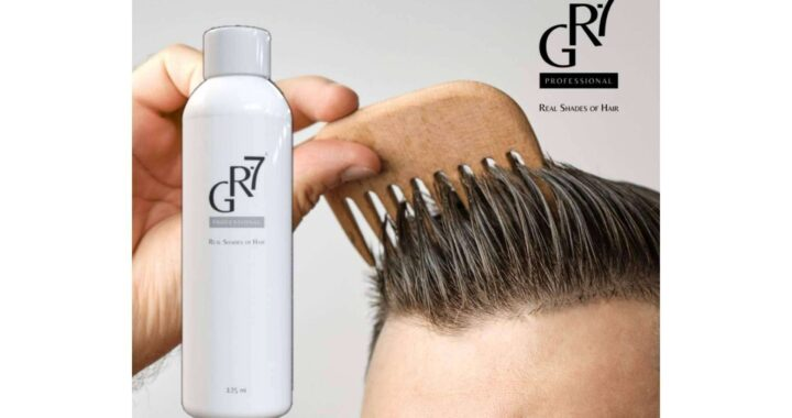 ¿Qué color elegir para las canas? El propio, GR-7 Professional recupera el color natural del cabello
